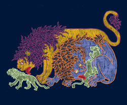 Medieval Lions