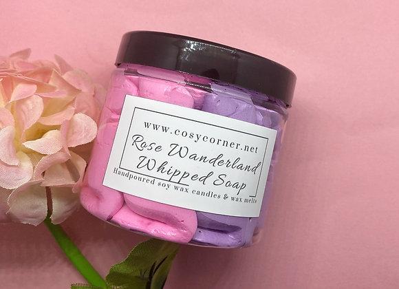 Rose Wonderland Whipped Soap