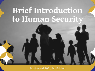 [PadJournal] Brief Introduction to Human Security