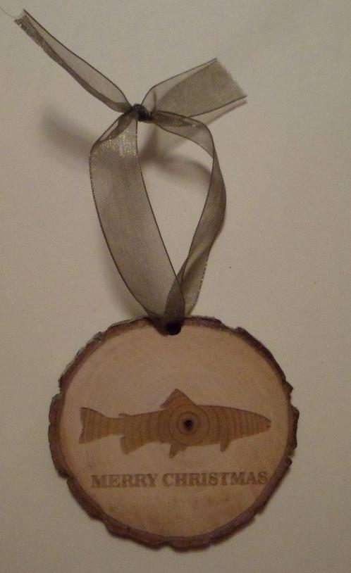 fist ornament Wood