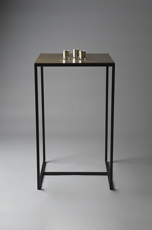 Brass Poseur Table