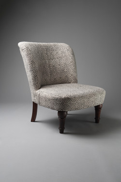 George chair velvet living furniture hir