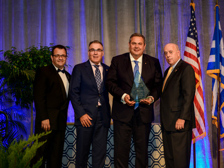 Greece's Defense Minister, Chick-fil-A President Honored at Grand Banquet; Veterans Recognized for S