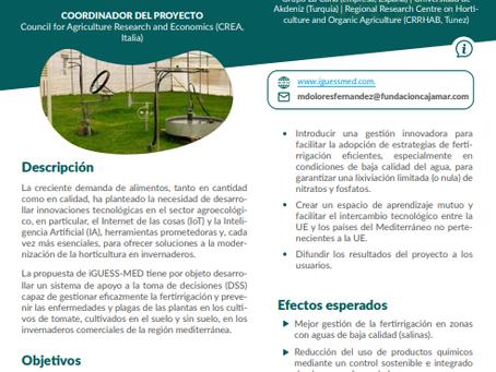 """Mention in """"Grupos Operativos y Proyectos Innovadores"""" dossiers"""