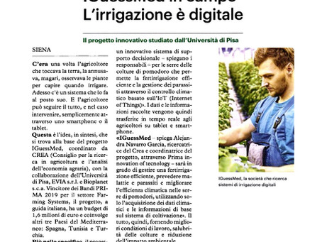 iGUESSmed on the Italian press