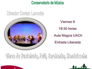 La Orquesta del Conservatorio celebra el Aniversario de la UACh