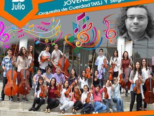 """""""Concierto de Jóvenes Talentos"""" Orquesta de Cuerdas de TMSJ"""