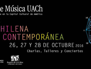 XIX Encuentro de Música Chilena Contemporánea 2016