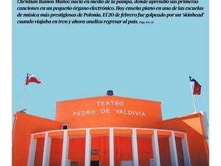 Nota de prensa a Christian Ramos Muñoz
