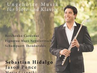 Sebastián Hidalgo anuncia su primer disco compacto