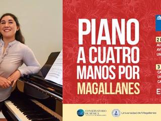 Profesora y alumna del Conservatorio realizan gira en el sur de Chile