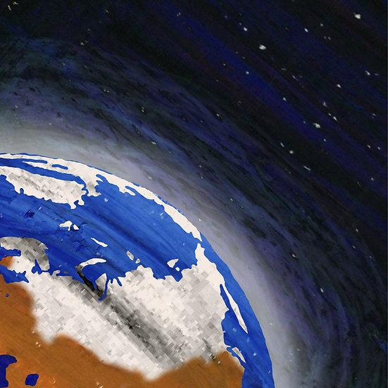 A Terra vista do céu e a espessura do mundo