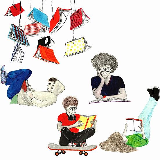 Grupo de leitura para adolescentes