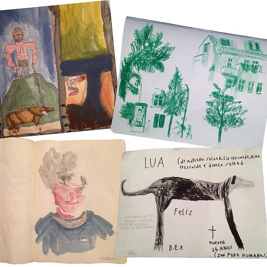 Desenho para adolescentes: da observação à fantasia
