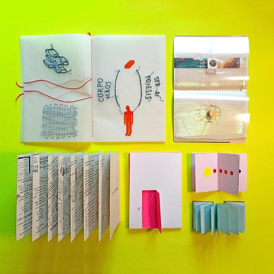 Corpo-livro: pensar com as mãos - Oficina de livro de artista