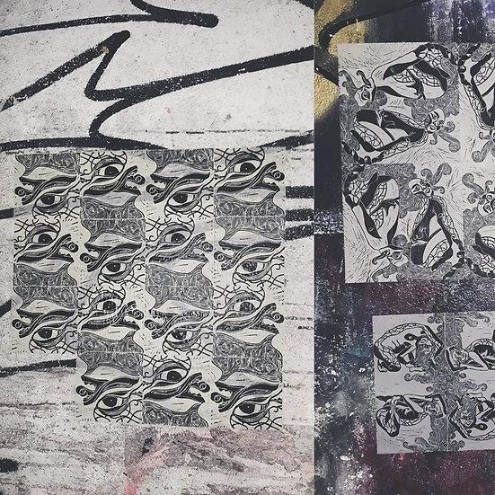 Lambe-lambe em xilogravura: Imagem para além das telas
