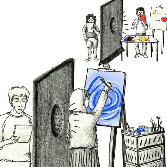 Livro-álbum: uma construção conjunta - Oficina de criação