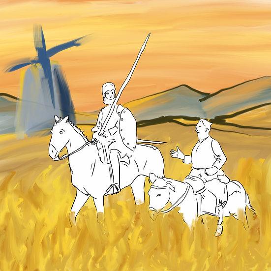 """Nos moinhos da imaginação: leitura acompanhada de """"Dom Quixote de la Mancha"""""""