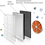 Thumbnail: Очиститель с функцией увлажнения Hisense