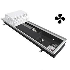 Конвектор внутрипольный с вентилятором