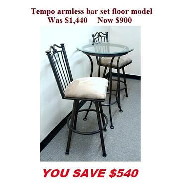Tempo armless bar set.jpg