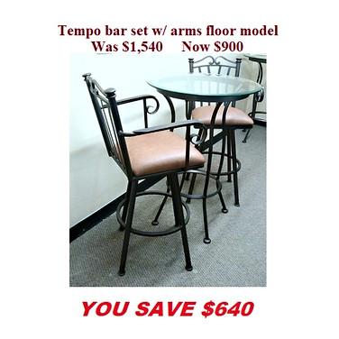 Tempo Arm bar set.jpg