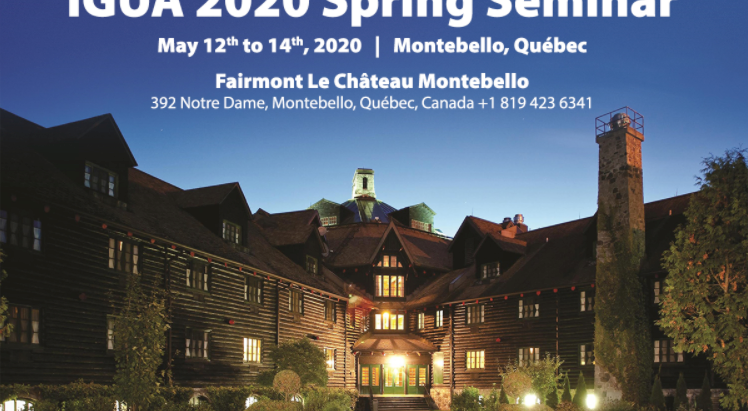 ClearBlue Markets to be a Silver Sponsor of the 2020 IGUA Spring Seminar