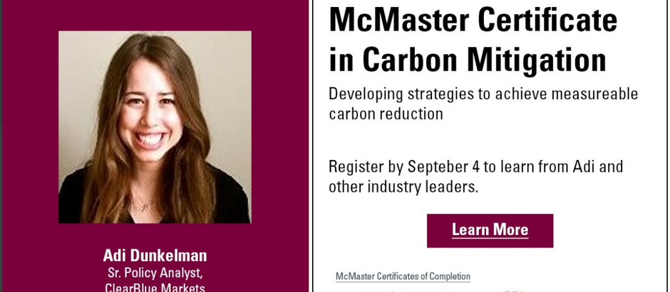 ClearBlue Team Providing Industry Expertise at McMaster University