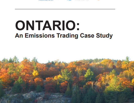 ClearBlue Contributes to Ontario Emissions Trading Case Study