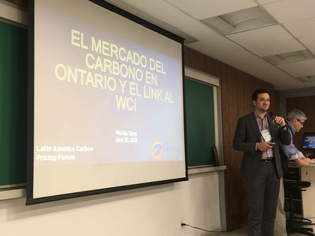ClearBlue's Nicolas Girod shares expertise as panelist at the Latin America Carbon Pricing Forum