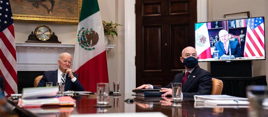 Biden Seeks Help on Border From Mexican President