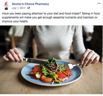 Social Media - Doctor's Choice Pharmacy