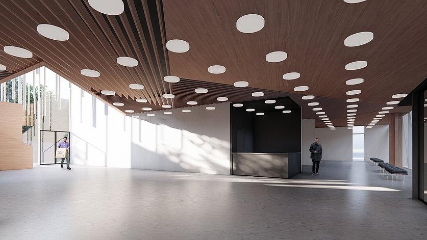интерьер выставочного центра