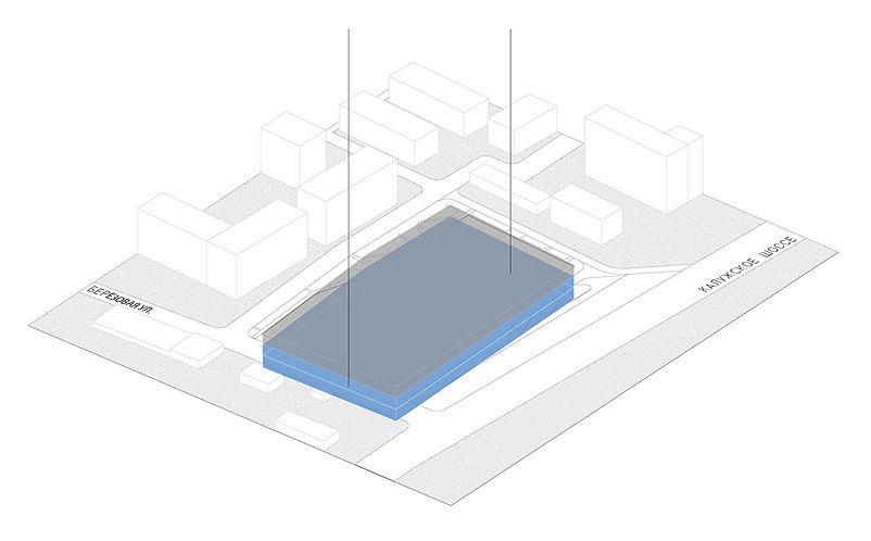 Многофункциональный комплекс. Жилой дом. Торговый центр. Квартал. Архитектура