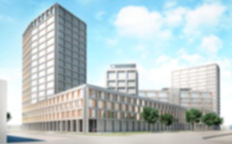 Многофункциональный комплекс, Жилой дом, Торговый центр, Квартал, Архитекткра