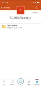 OneDrive on iPhone