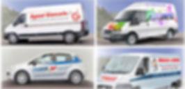 Decorazione automezzi e adesivi per furgoni e auto