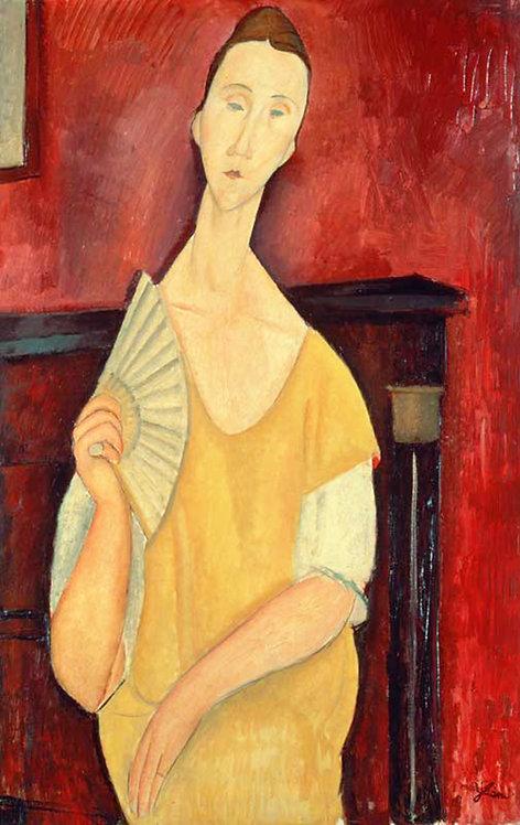 FIGURA CON VENTAGLIO - 1910