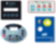 Tastiere in policarbonato adesivo, frontalini, tastiere a menbrana