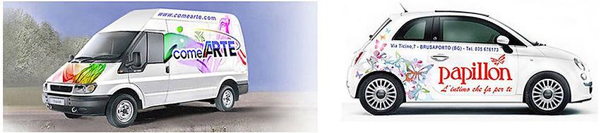 Adesivi auto e furgoni