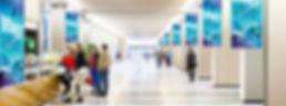 Banner in pvc stampati per centri commerciali
