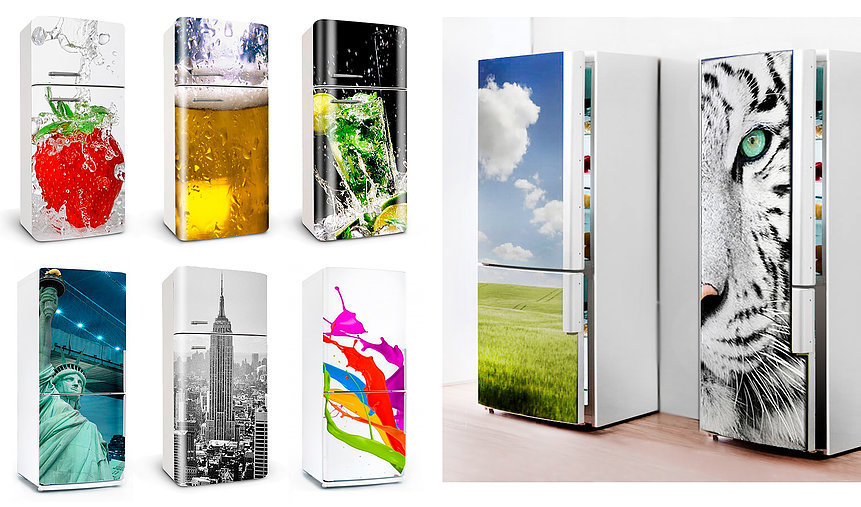 Adesivi per frigoriferi, Rivestimento frigoriferi