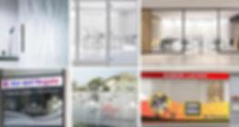 Vetrofanie per uffici, Bar e Ristoranti, tutte personalizzate