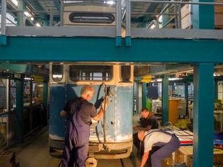 G-Wagen im Arbeitsstand
