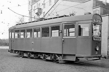 Fahrschulwagen K1 mit der Nummer 23 tram münchen