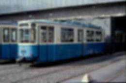 Bahnhofswagen    Typ: M 3.64  Betriebsnummer: 2982 münchen tram