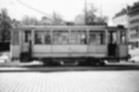 H-Tw 106 am Nordbad 2.10.1951 tram münchen