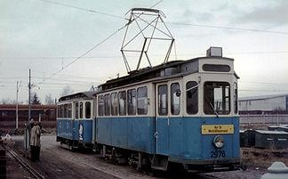 münchen tram Bahnhofswagen Typ G 1.8 Betriebsnummer 2976