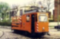 Turmwagen mit Hilfsmotor  Typ: Tu 1.8 Betriebsnummer: 46 Letzte Betriebsnummer: 2946 münchen tram trabahn