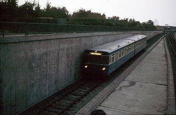 U-Bahn Testfahrten 1969 Studentenstadt